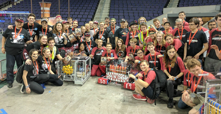 Robotics Funding Challenge, Worlds Competition a Success
